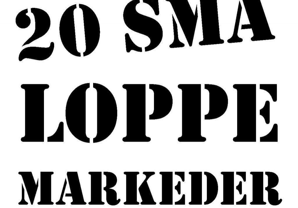 20 små loppemarkeder logo big